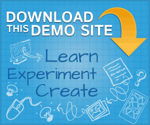 Download the K2 demo site from JoomlaWorks